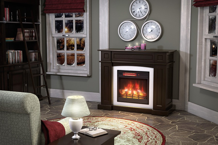Hamilton Mantel Fireplace