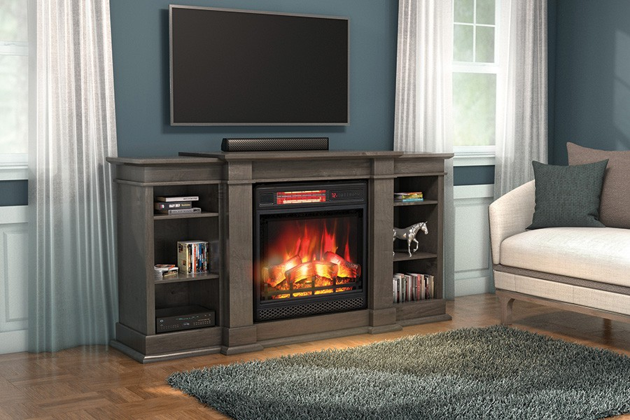 Richmond TV Console with Fireplace