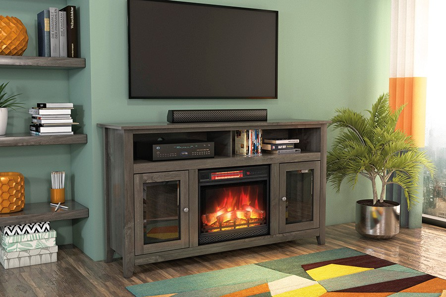 Windham TV Console with Fireplace