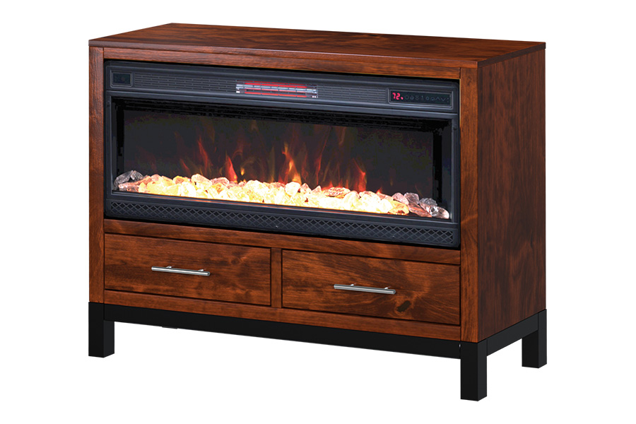 4632 pierre 4630 media fireplace console